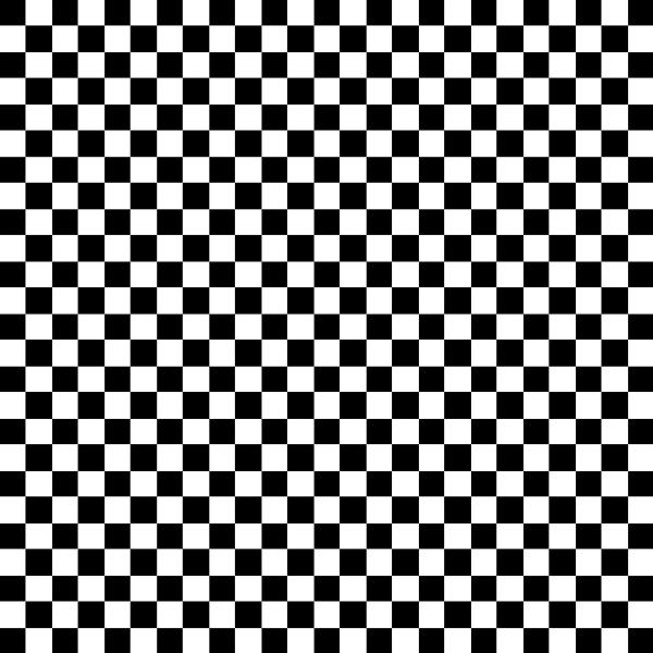 Black And White Check Pattern By Celso Diniz