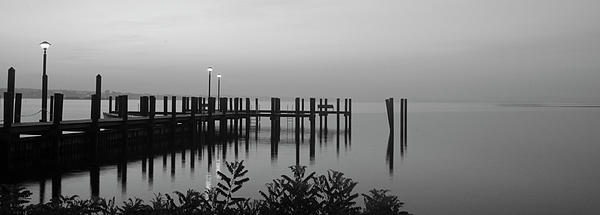 Crystal Wightman - Black and White Dock