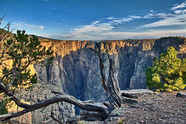 Black Canyon Fading Light Print by Eric Rundle