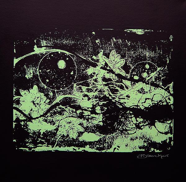 Black Harmony  Print by Bitten Kari