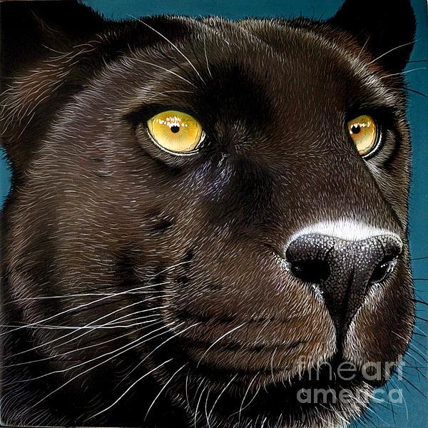 Black Panther Print by Jurek Zamoyski