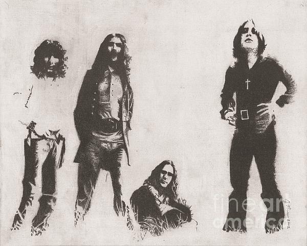 Black Sabbath Print by Jeff Ridlen