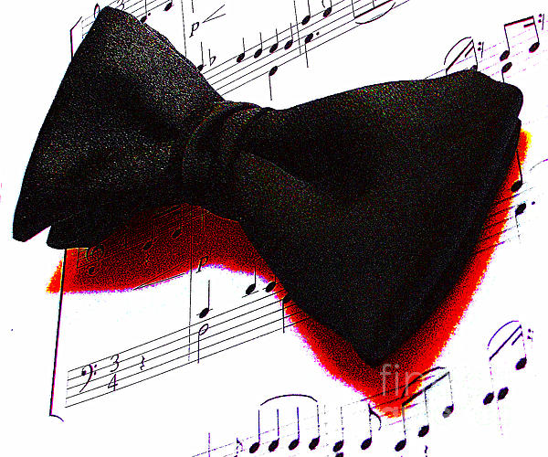 Black Tie Affair Print by M and L Creations