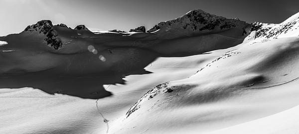 Blackcomb Backcountry Print by Ian Stotesbury