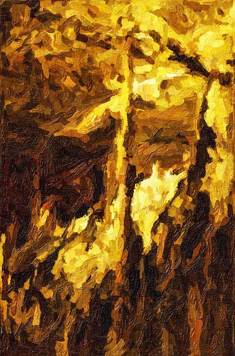 Blanchard Springs Caverns-arkansas Series 07 Print by David Allen Pierson
