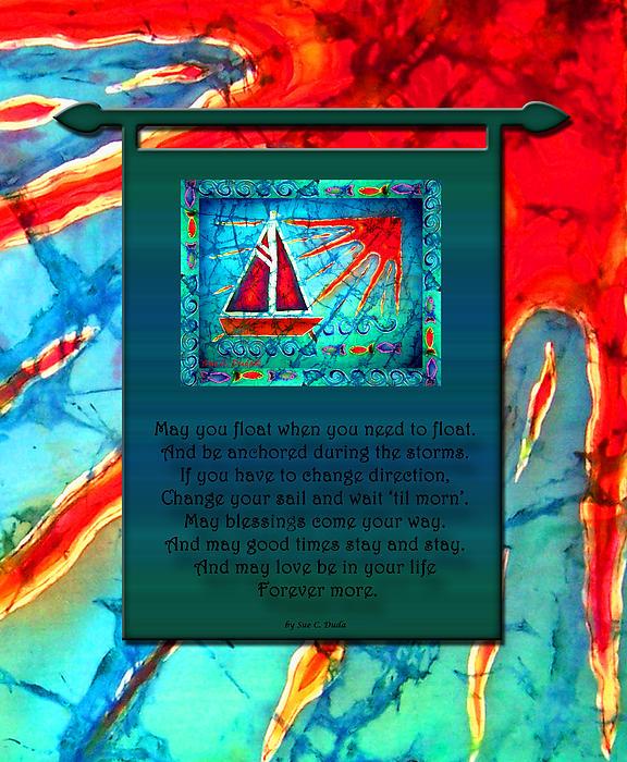 Blessings 1 Print by Sue Duda