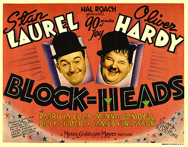 Block Heads Print by Studio Release