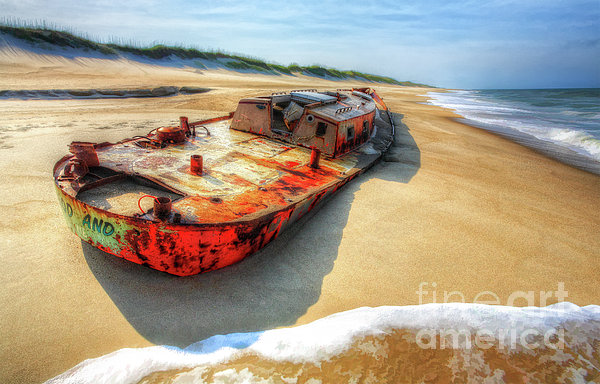 Blood And Guts II - Outer Banks Print by Dan Carmichael