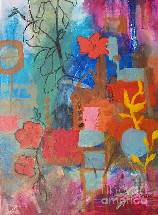 Bloom Where You Are Print by Robin Maria  Pedrero