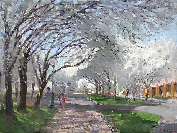 Blooming In Niagara Park Print by Ylli Haruni