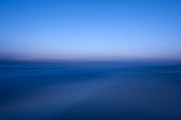 Blue #1 Print by Catherine Lau