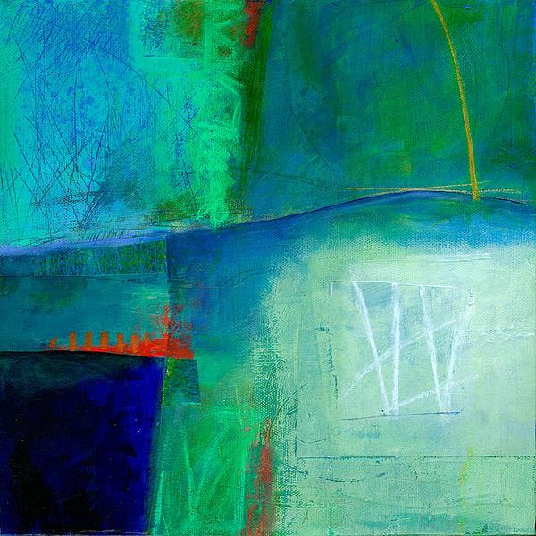 Blue #1 Print by Jane Davies