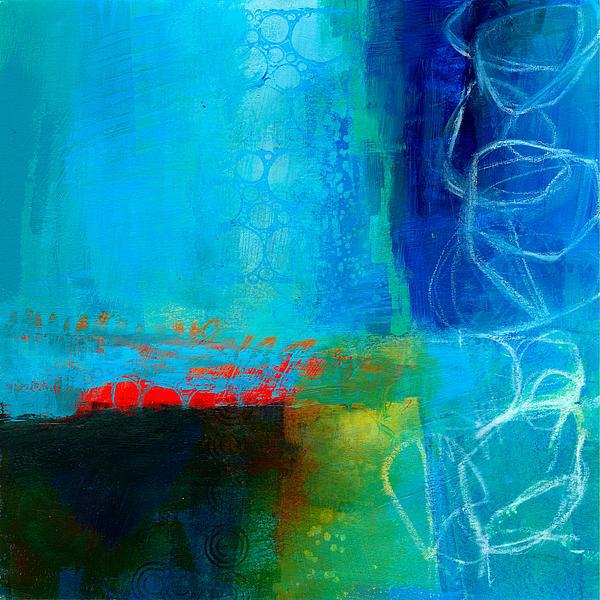Blue #2 Print by Jane Davies