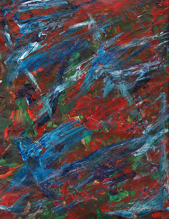 Tod Estes - Blue and Orange Flow