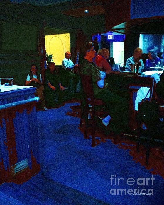 RC deWinter - Blue Bar on a Monday