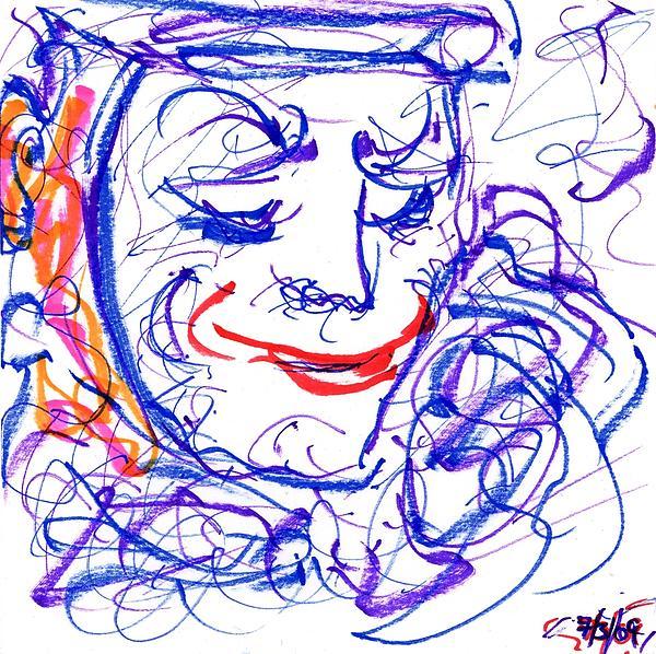 Rachel Scott - Blue Clown