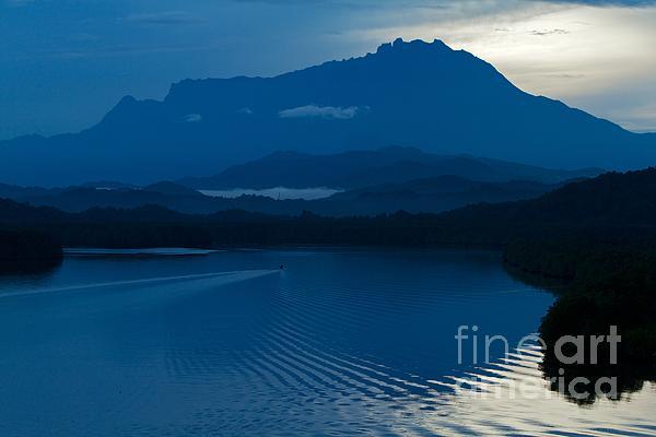 Blue Dawn  Print by Gary Bridger