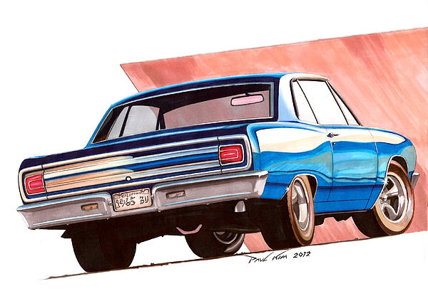 Blue Malibu Print by Paul Kim