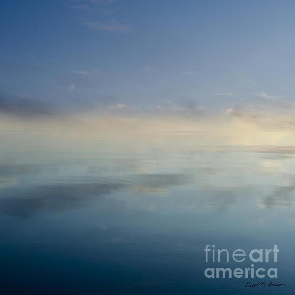 Blue Morning At Glendale Print by David Gordon