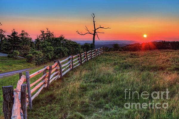 Dan Carmichael - Blue Ridge Sunrise at Doughton I