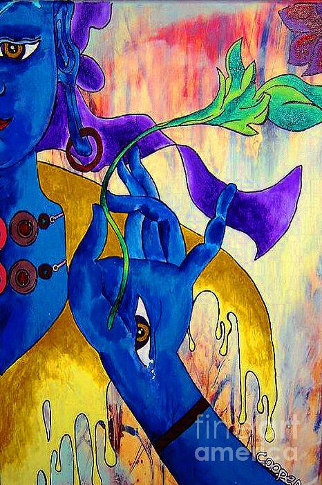 Blue Tara  Print by Kevin J Cooper Artwork