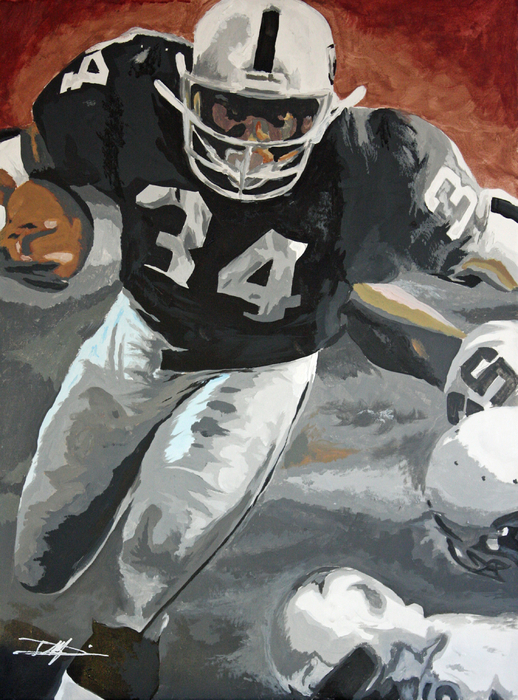 Bo Jackson Print by Don Medina