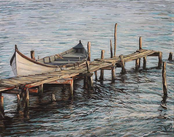 Veny Arsenov - Boat on old dock