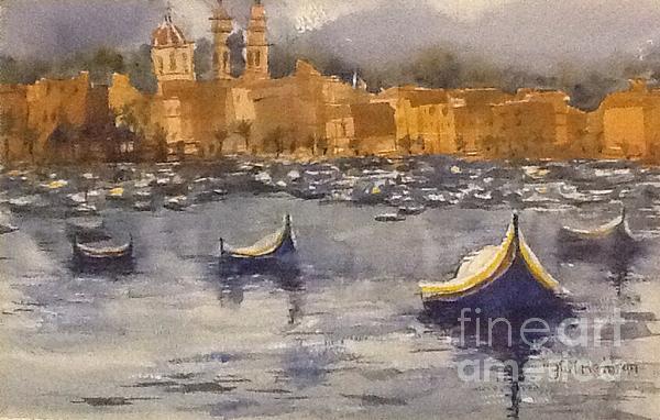 Gail Heffron - Boats in Malta