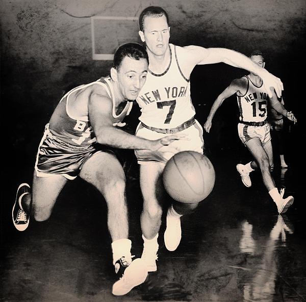 Bob Cousy Of The Celtics 1960 Print by Mountain Dreams