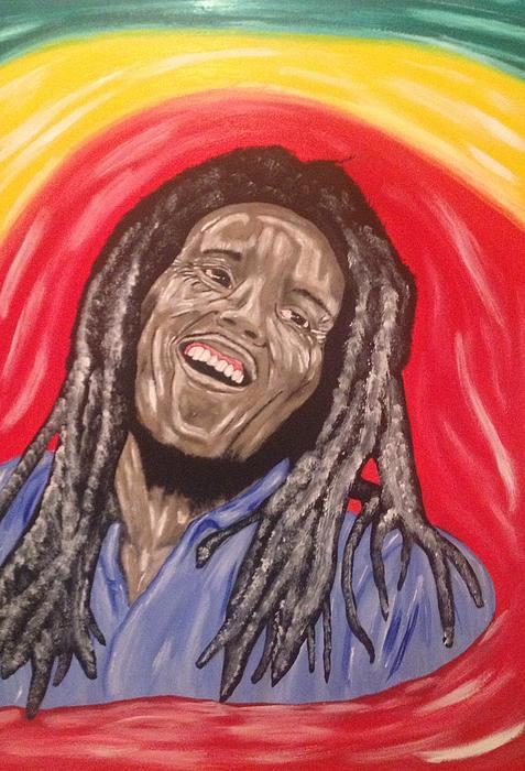 Bob Marley Print by Scott Wilmot