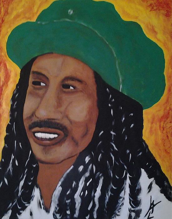 Bob Marley Print by Will Logan