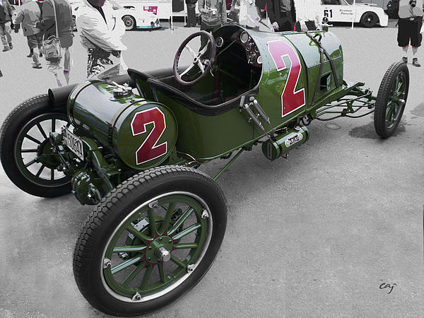 Bobtail Fronty Ford At The Reunion 2011 Print by Curt Johnson