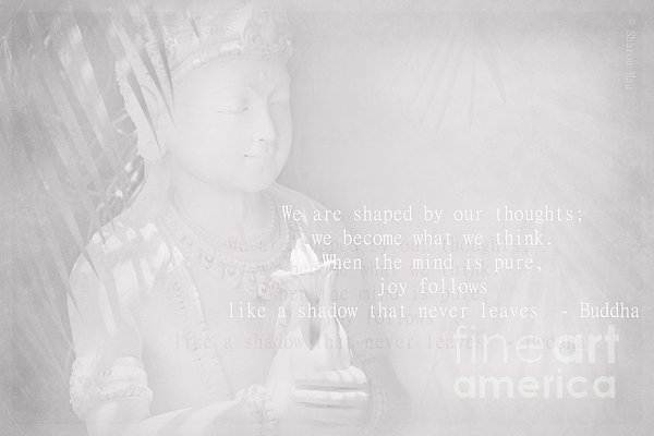Bodhisattva Print by Sharon Mau