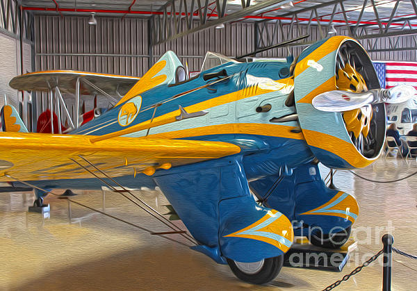 Boeing Peashooter P-26a  -  03 Print by Gregory Dyer