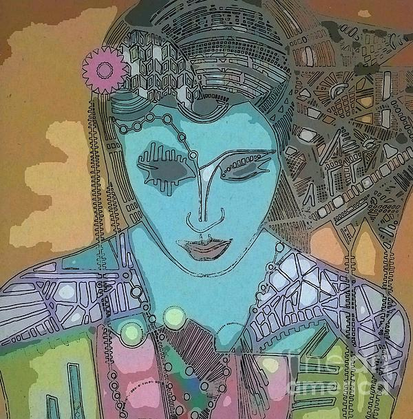 Bohee Water Print by Amy Sorrell