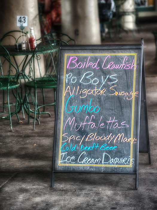 Boiled Crawfish Special Print by Brenda Bryant