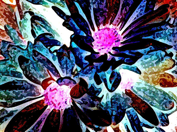 Bold Floral Digital Art