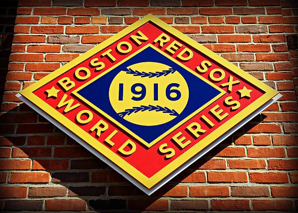 Boston Red Sox 1916 World Champions Print by Stephen Stookey