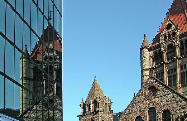 Boston Unity Reflected 2853 Print by Guy Whiteley