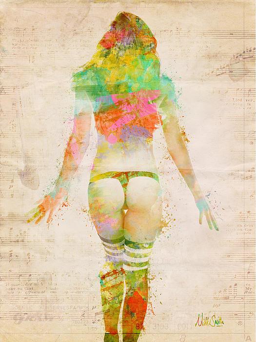 Boudoir Sonata Print by Nikki Smith