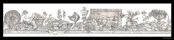 Bounties Of The Sea Print by John Keaton