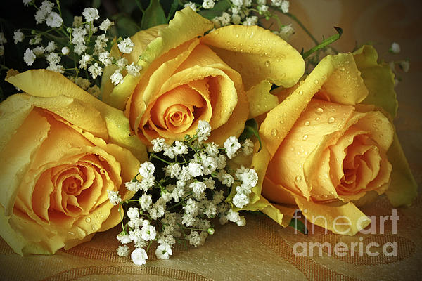 Bouquet Of Sunshine Print by Inspired Nature Photography By Shelley Myke