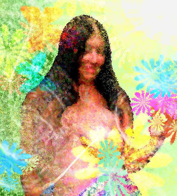 Bouquet Print by Wide Awake Arts