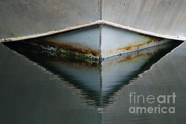 Bow Reflection Print by Ron Pettitt