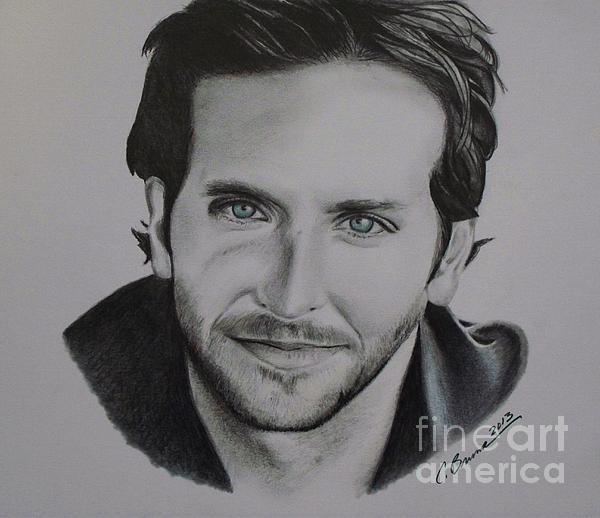 Bradley Cooper Print by Christy Bruna