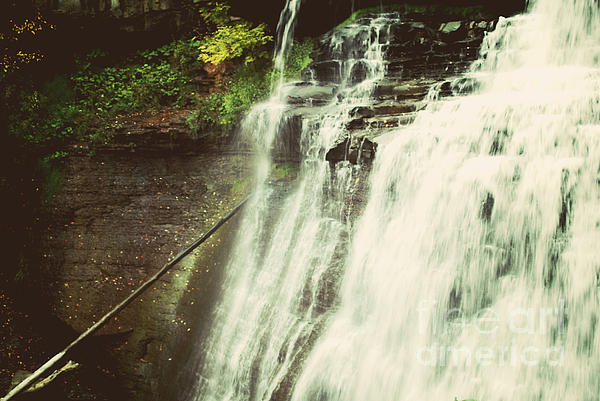 Bradywine Falls Print by Rachel Barrett