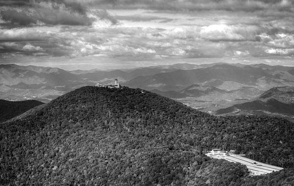 Chrystal Mimbs - Brasstown Bald in Black and White