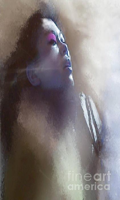 Breathe Print by Ruth Clotworthy