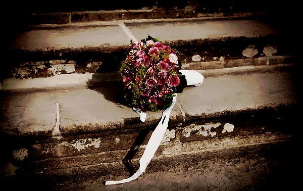 Bridal Bouquet Print by Mountain Dreams