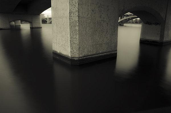 Bridge Contemplations Print by Dave Dilli